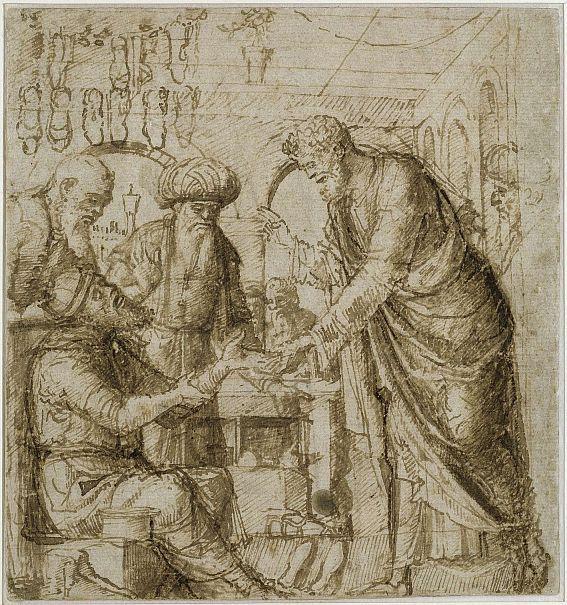 Der Heilige Markus heilt die Hand des Schusters Anianus