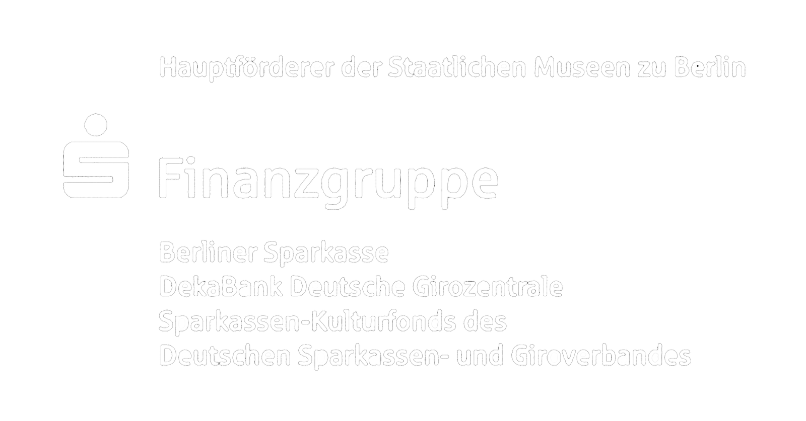 Sparkassenfinanzgruppe Logo weiß transparent