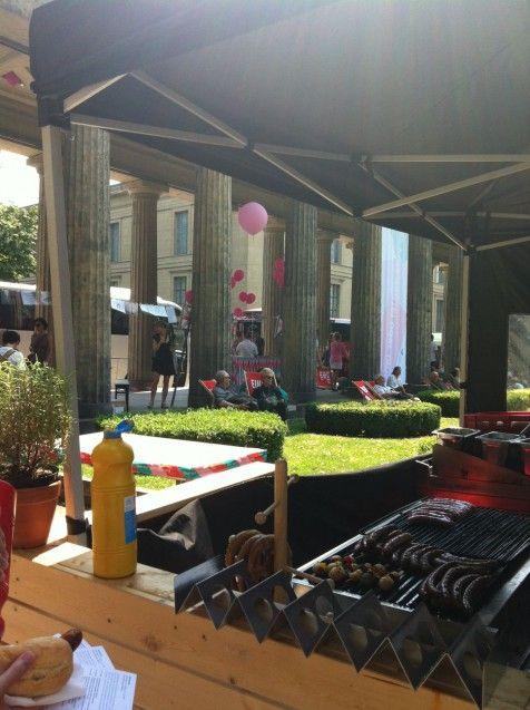 Das kulinarische Angebot bei PARCOURS. Foto: Lina Frubrich