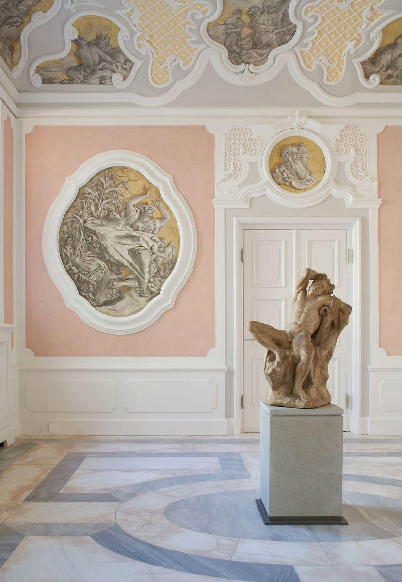 Giovanni Battista und Domenico Tiepolo (1696-1770 und 1727-1804): Freskenzyklus aus dem Palazzo Volpato-Panigai in Nervesa, 1754. Foto: Antje Voigt