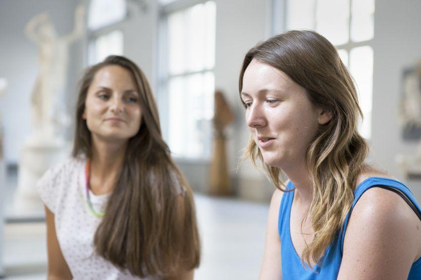 Beatrice Miersch und Katharina Steegmans im Interview. Foto: Juliane Eirich