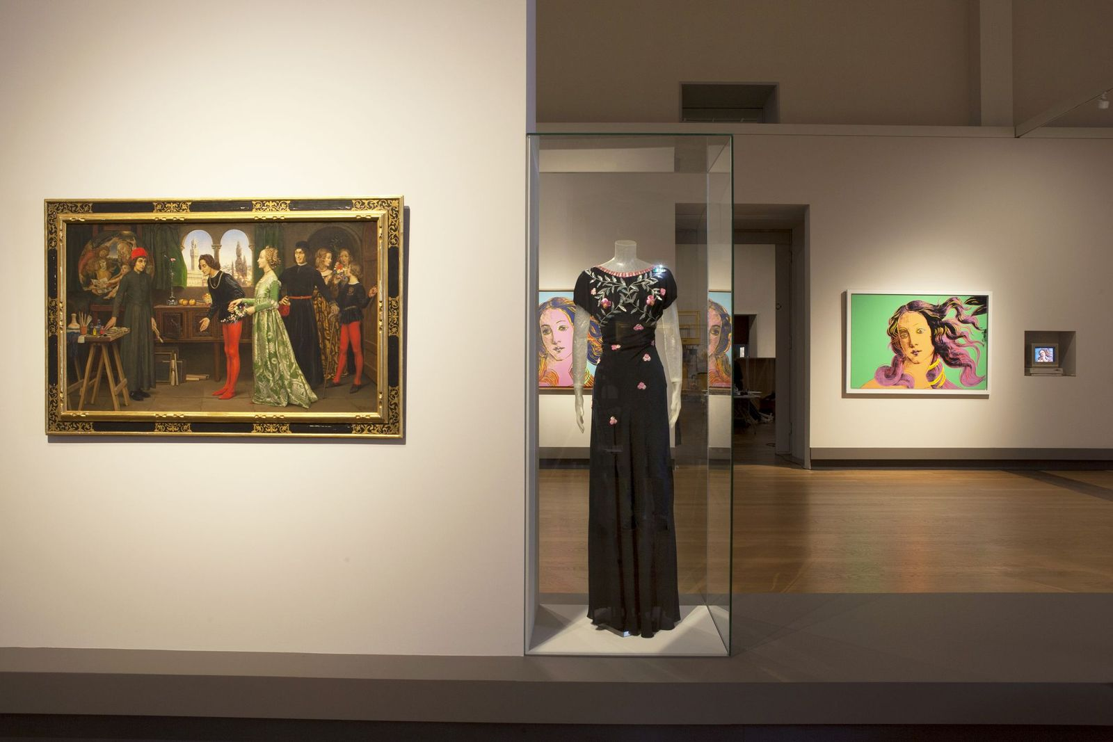 """Blick in die Ausstellung """"The Botticelli Renaissance"""". Foto: Juliane Eirich"""