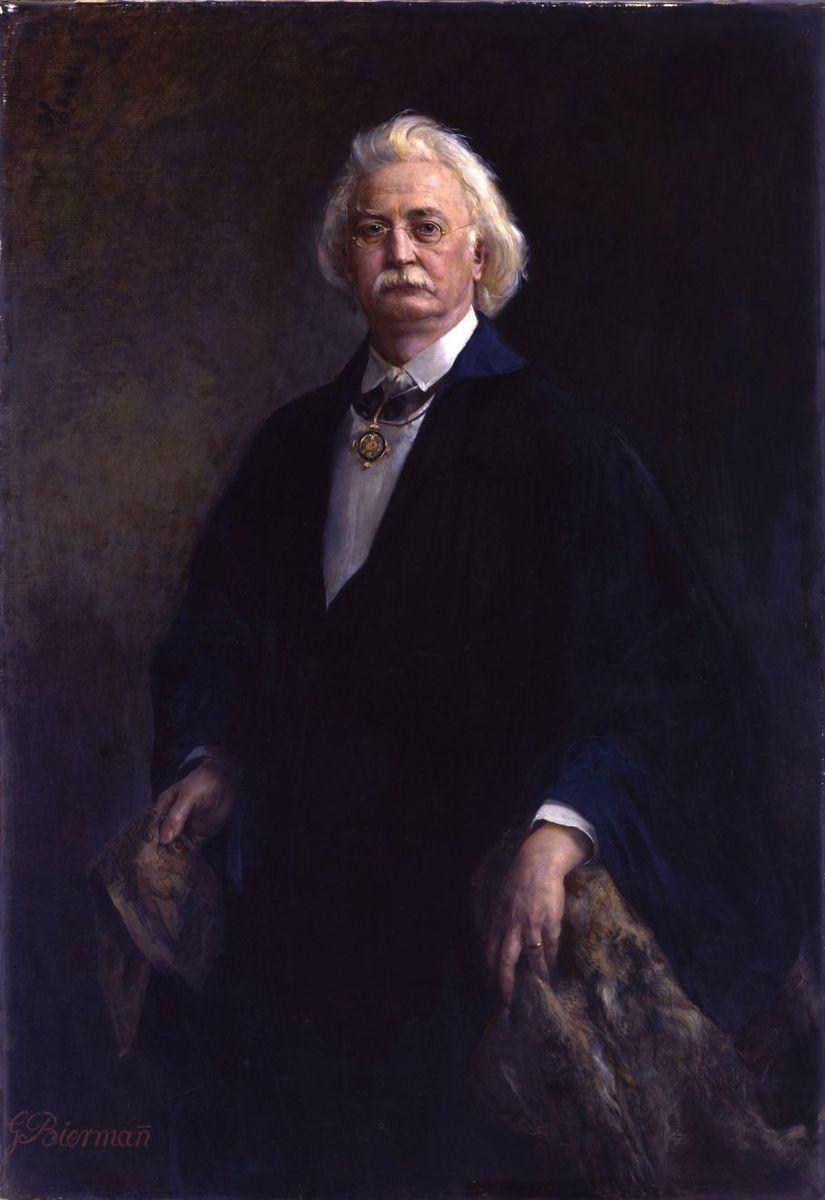 Gottlieb Biermann: Bildnis Professor Richard Lepsius. 1892/1893 © Staatliche Museen zu Berlin, Nationalgalerie / Andres Kilger