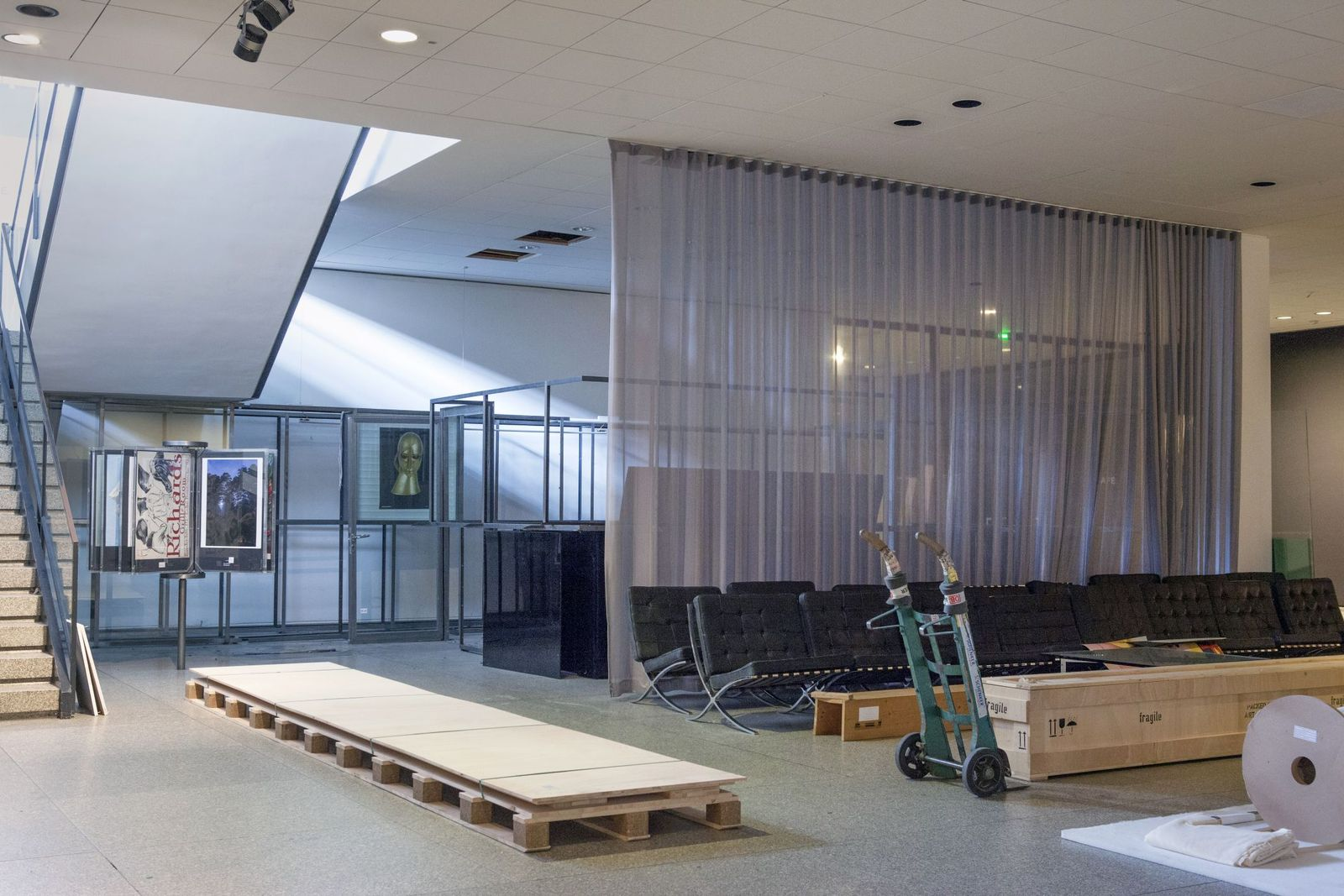 Der ehemalige Museumsshop war ein Provisorium und entsprach nicht modernen Anforderungen - er wird im Rahmen der Sanierung neu konzipiert. Foto: Juliane Eirich