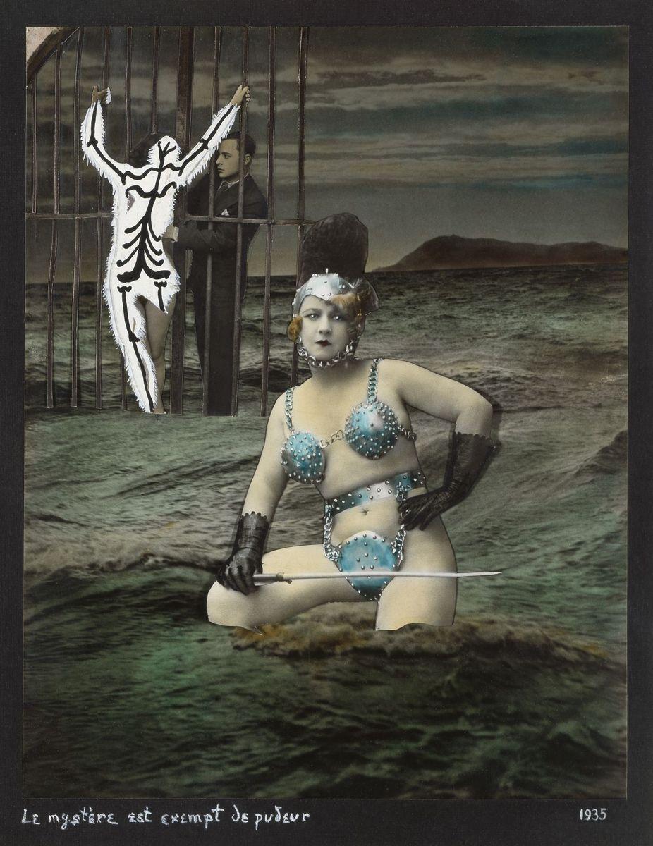 Georges Hugnet : Le mystère est exempt de pudeur, 1935 © bpk/Nationalgalerie SMB, Sammlung Scharf-Gerstenberg. Foto: Volker-H. Schneider
