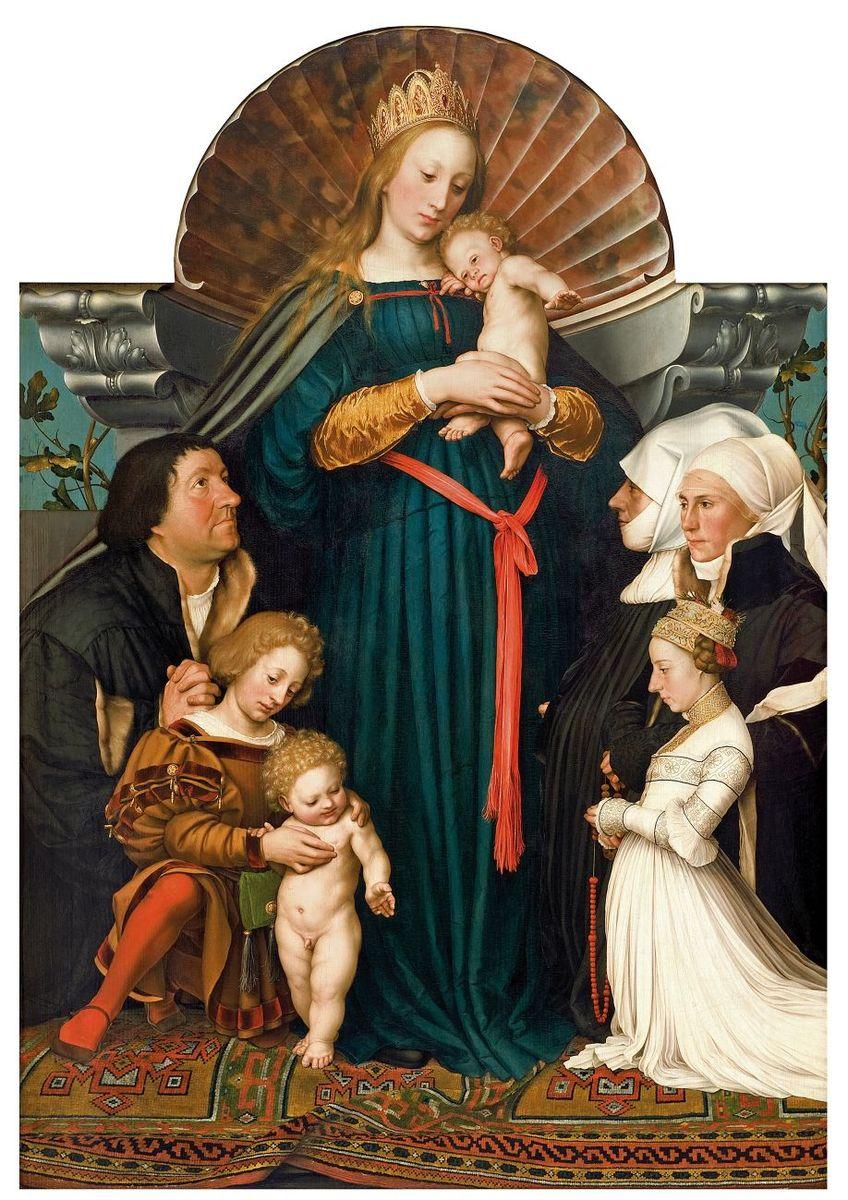 Hans Holbein d. J.: Die Madonna des Bürgermeisters Jakob Meyer zum Hasen, 1526/28 © Archiv Würth