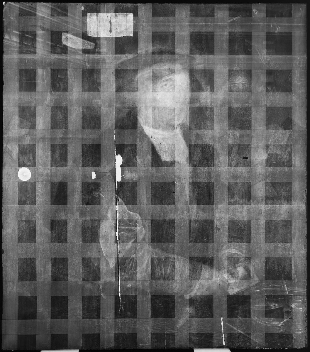 Radiografie des Kaufmanns Georg Gisze, Gemäldegalerie © SMB, Christoph Schmidt