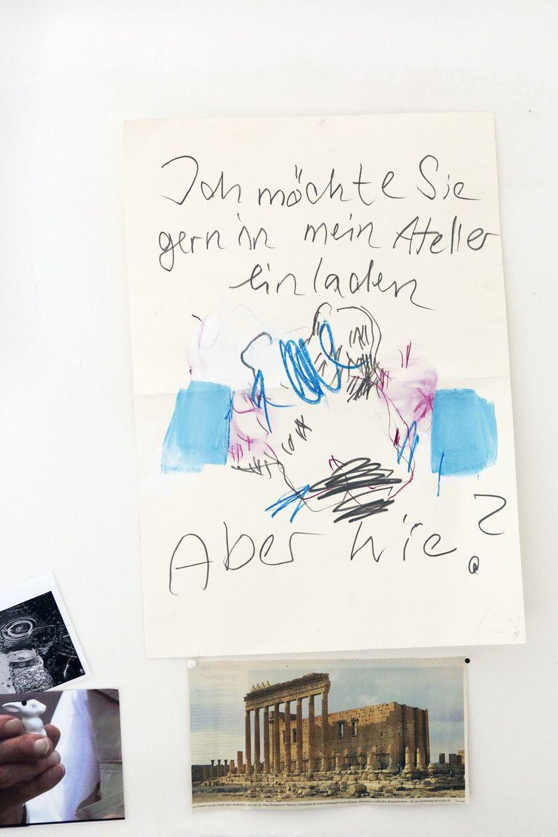 Kunst an der Wand (c) Staatliche Museen zu Berlin / Juliane Eirich