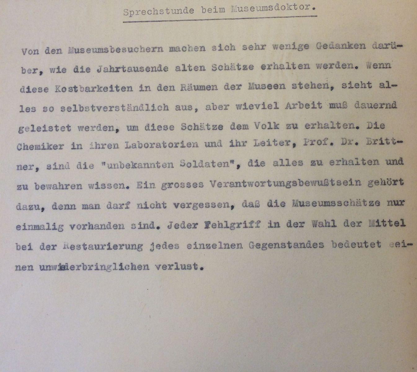 (c) Staatliche Museen zu Berlin, Rathgen-Forschungslabor