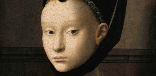 Petrus Christus: Bildnis einer jungen Frau, um 1470 © Gemäldegalerie SMB/ Jörg P. Anders