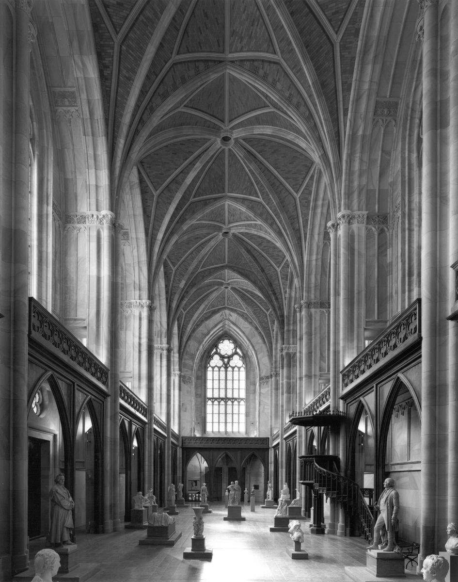 Hillert Ibbeken (*1935)  Friedrichswerdersche Kirche, 1999  Silbergelatinepapier, Schenkung des Fotografen 2012   (c) Staatliche Museen zu Berlin, Kunstbibliothek