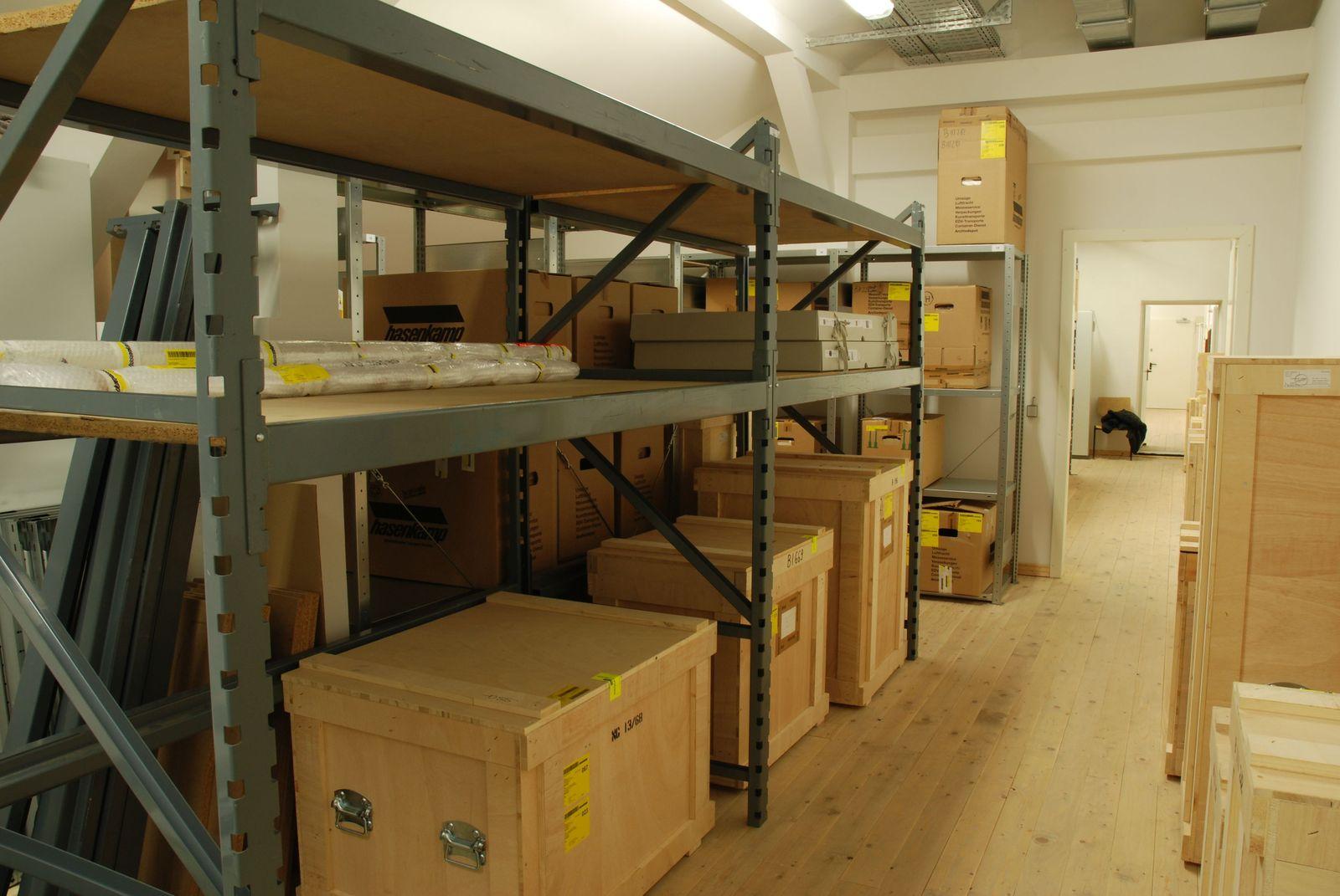 Depot Sammlung Scharf-Gerstenberg. © Bundesamt für Bauwesen und Raumordnung / Cornelia Rüth