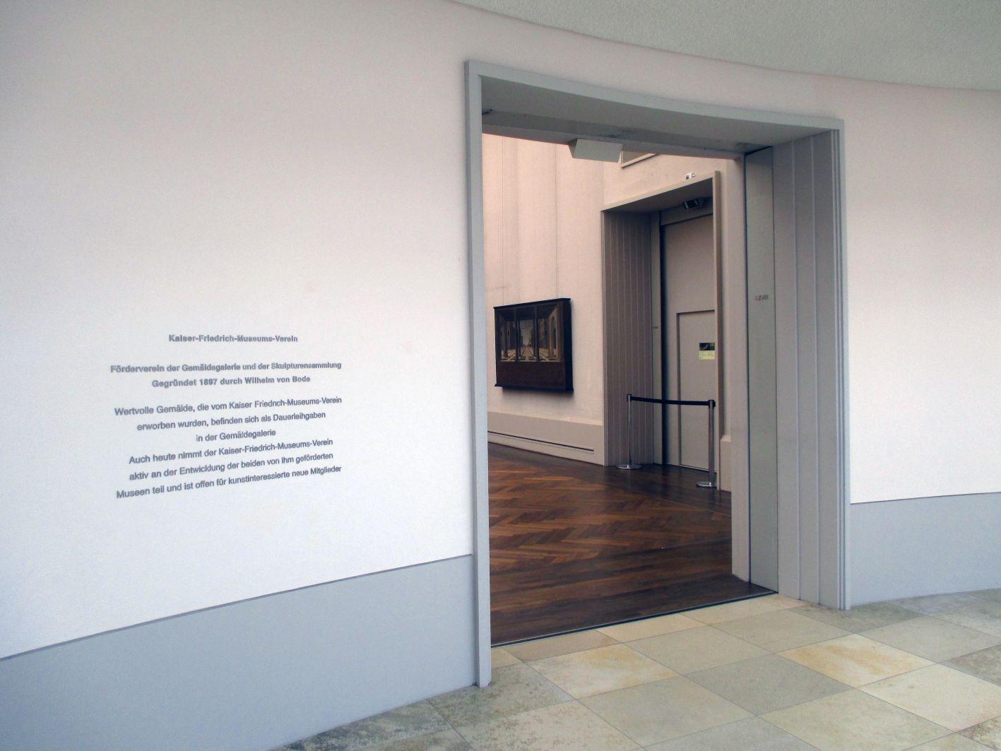 Blick in Raum Nr. XVIII © Foto: Gemäldegalerie der Staatlichen Museen zu Berlin - Preußischer Kulturbesitz: Autor