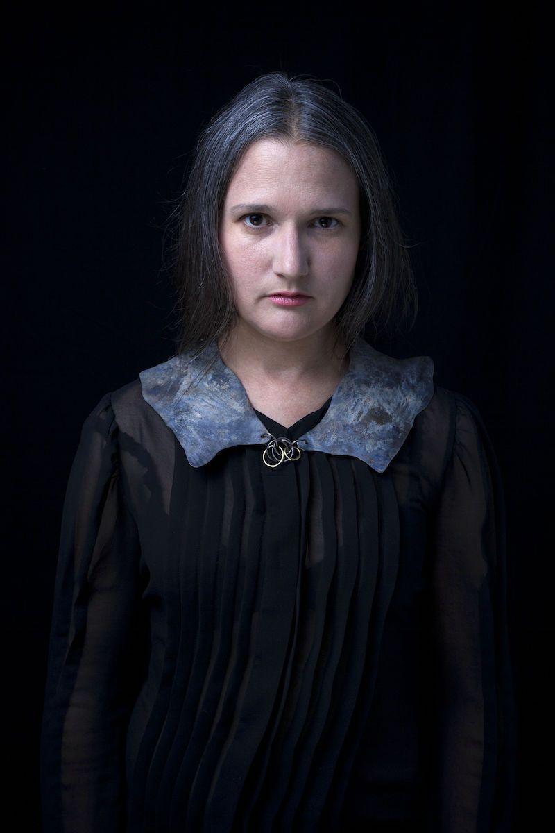 Halsschmuck von Dorothea Prühl: Kragen, 2014; Foto: Rene Arnold