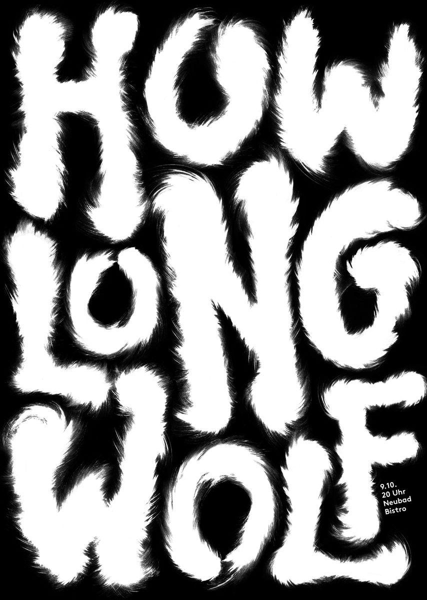 Isabelle Mauchle (Luzern): Howlong Wolf © Isabelle Mauchle / 100 Beste Plakate e.V.
