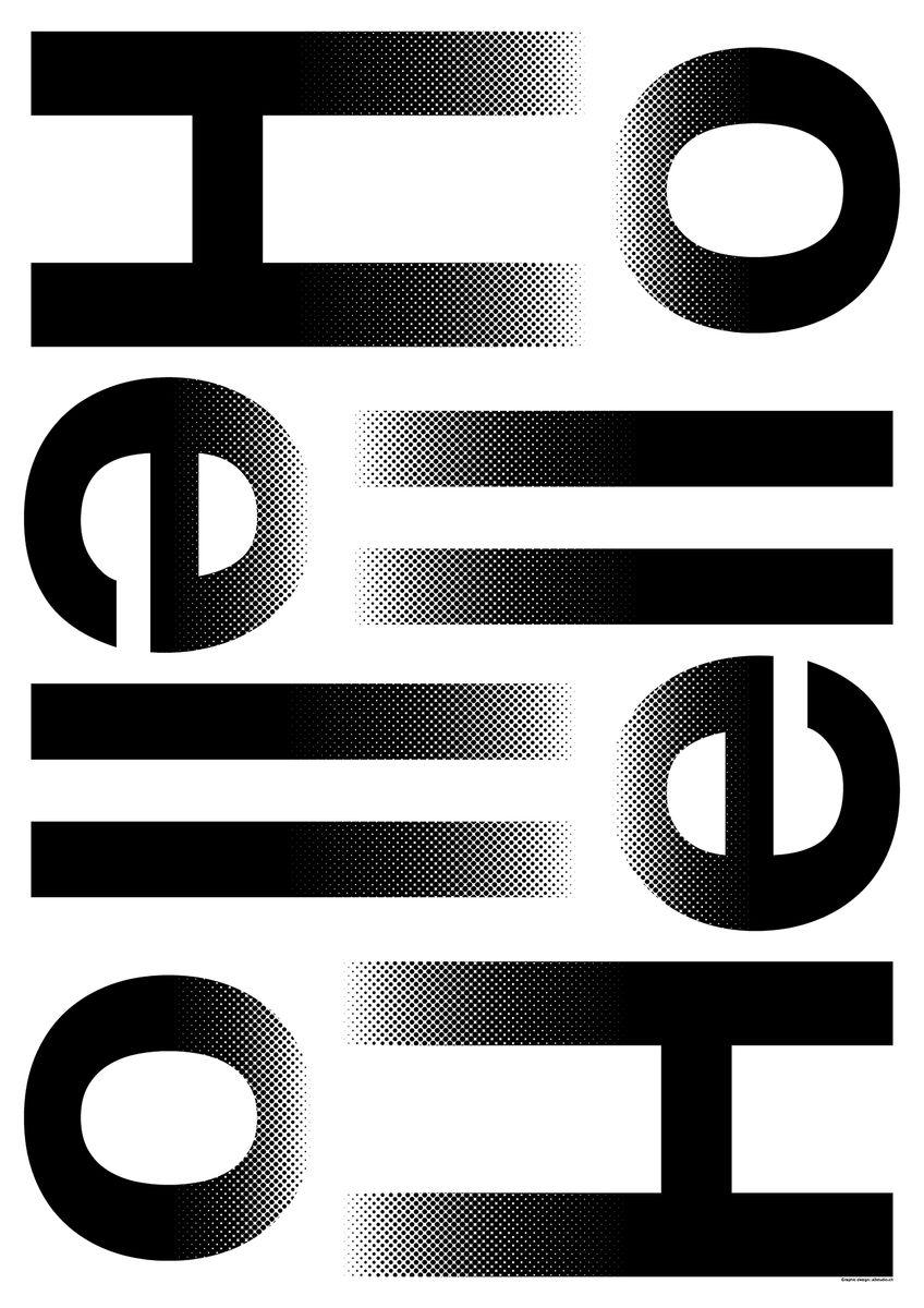 Yvo Hählen / Priscilla Balmer (A3 studio, Lausanne): Hello Hello © Yvo Hählen / Priscilla Balmer / 100 Beste Plakate e.V.