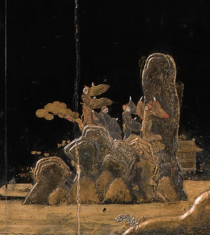 Details aus beiden Bildtafeln der Front: © Staatliche Museen zu Berlin, Kunstgewerbemuseum; Foto: Achim Stiegel