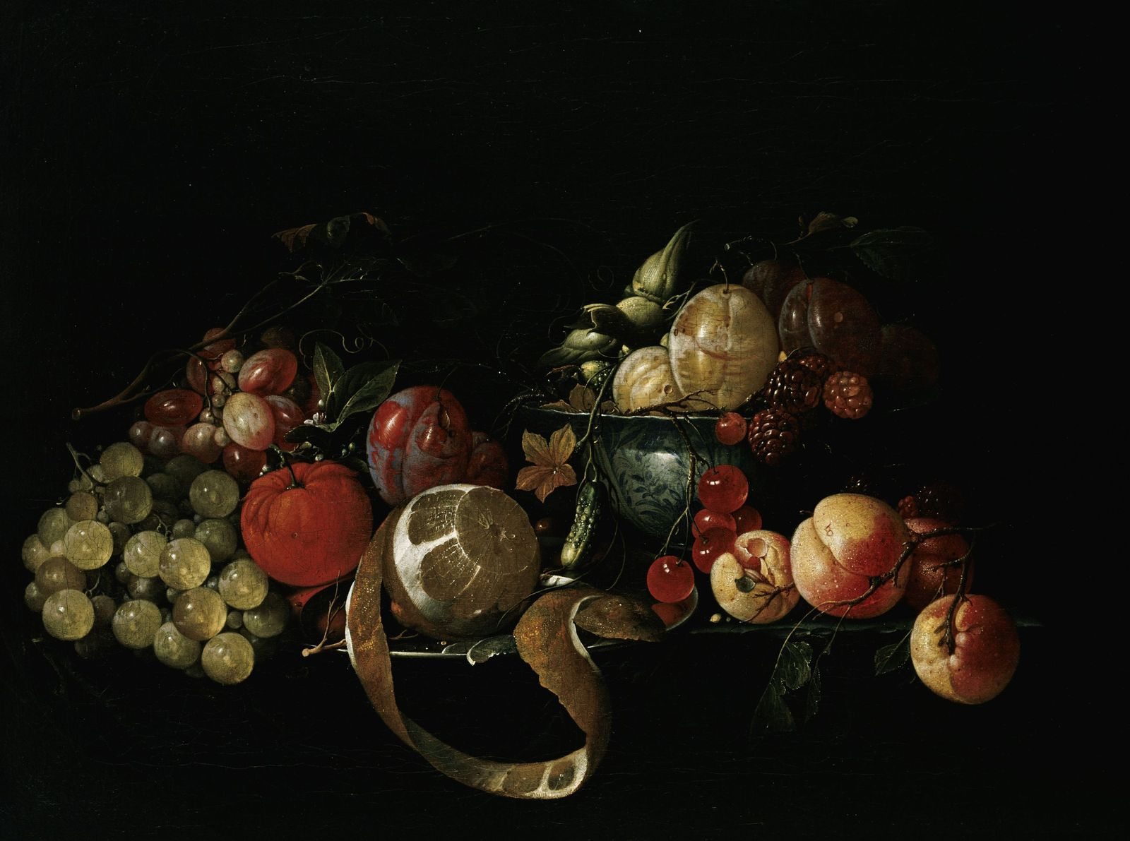 Cornelis de Heem:  Stillleben mit Früchten (17. Jahrhundert); (c)  bpk / Gemäldegalerie, SMB / Jörg P. Anders