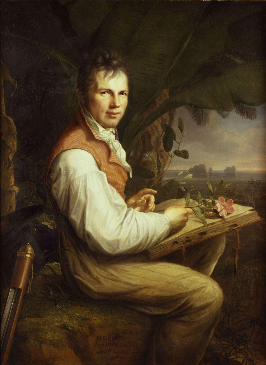 Friedrich Georg Weitsch: Alexander von Humboldt (c)  bpk / Nationalgalerie, SMB / Jürgen Liepe