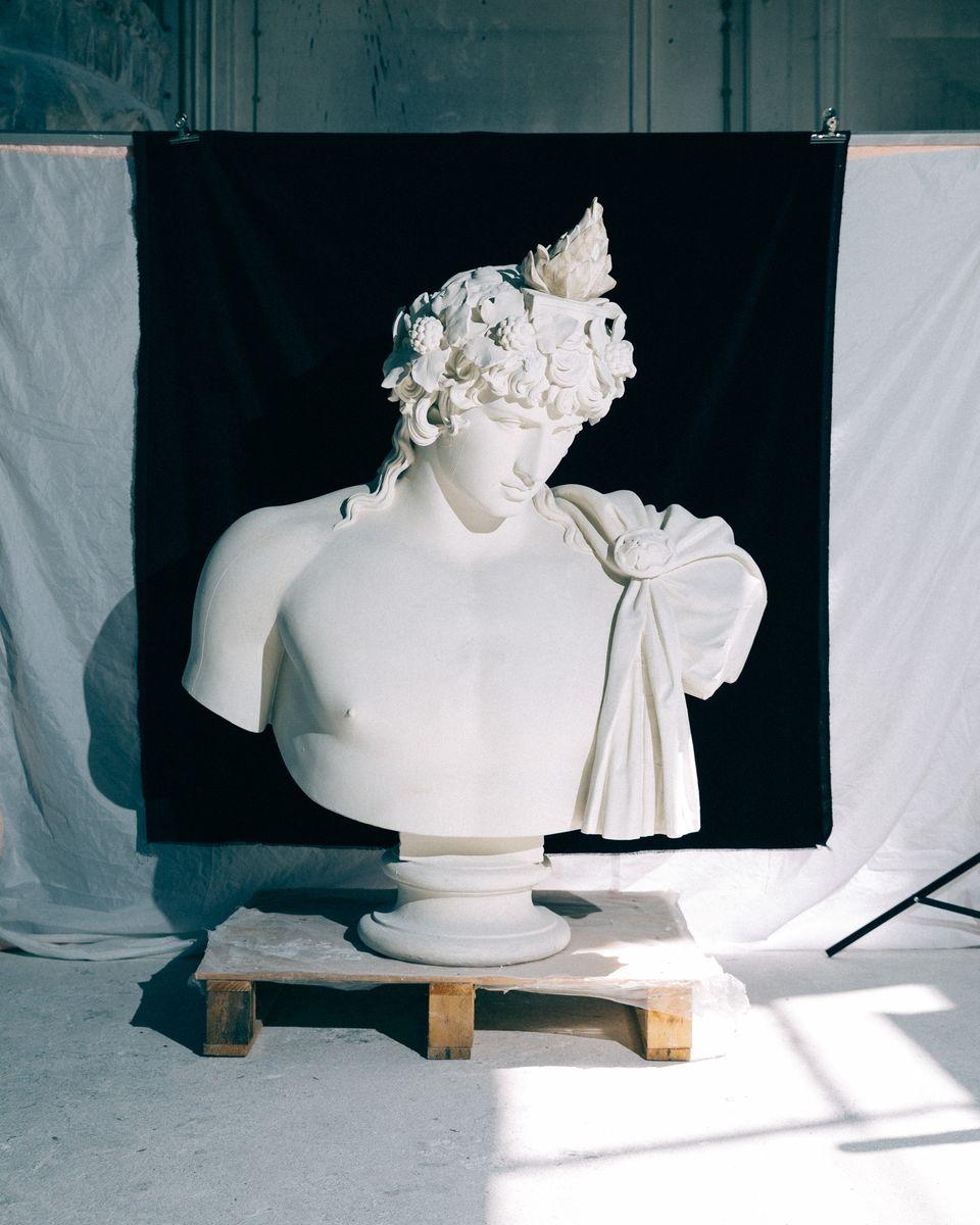 Antinous Dionysos; © Staatliche Museen zu Berlin, Daniel Hofer