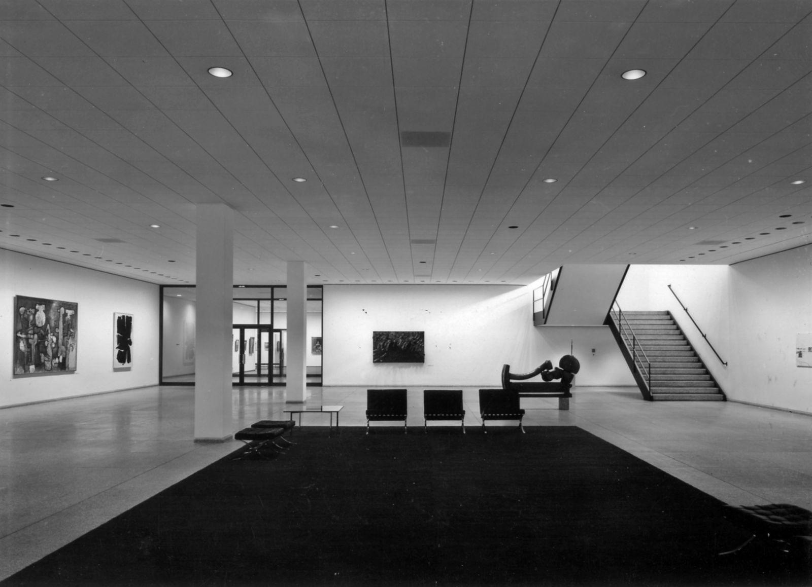 Fotomappe Reinhard Friedrich, Neue Nationalgalerie © Staatliche Museen zu Berlin, Zentralarchiv, Reinhard Friedrich
