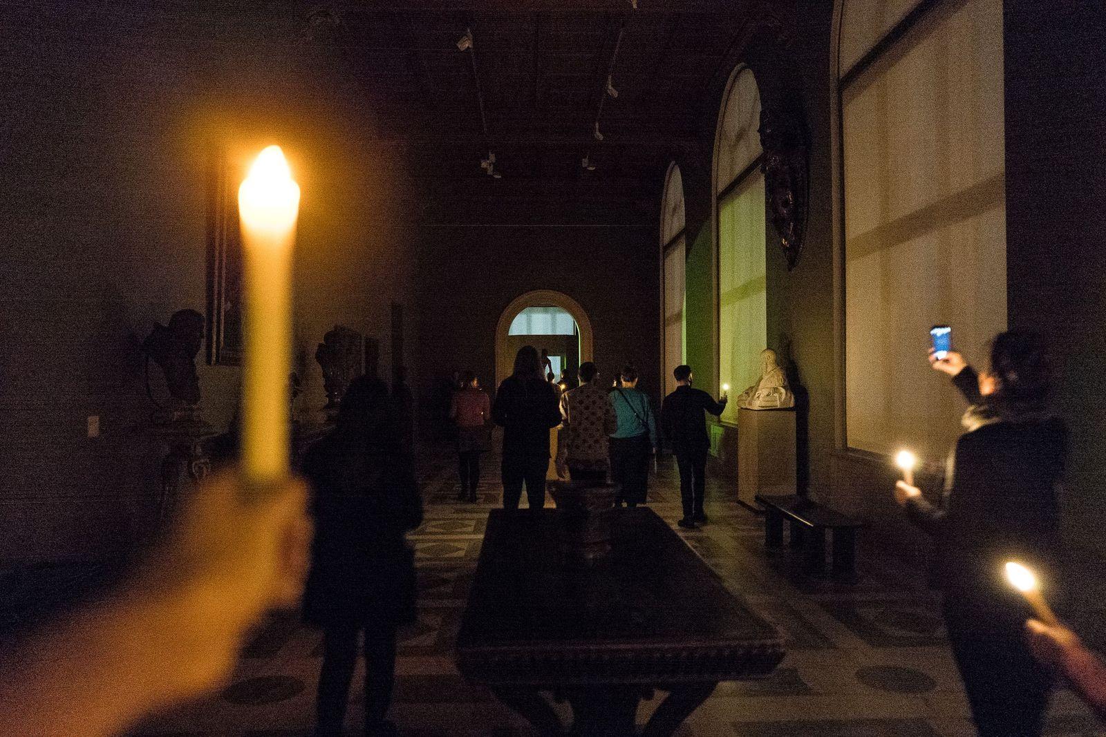 Nachts im Museum ... Foto: Christoph Neumann, www.christoph-neumann.com