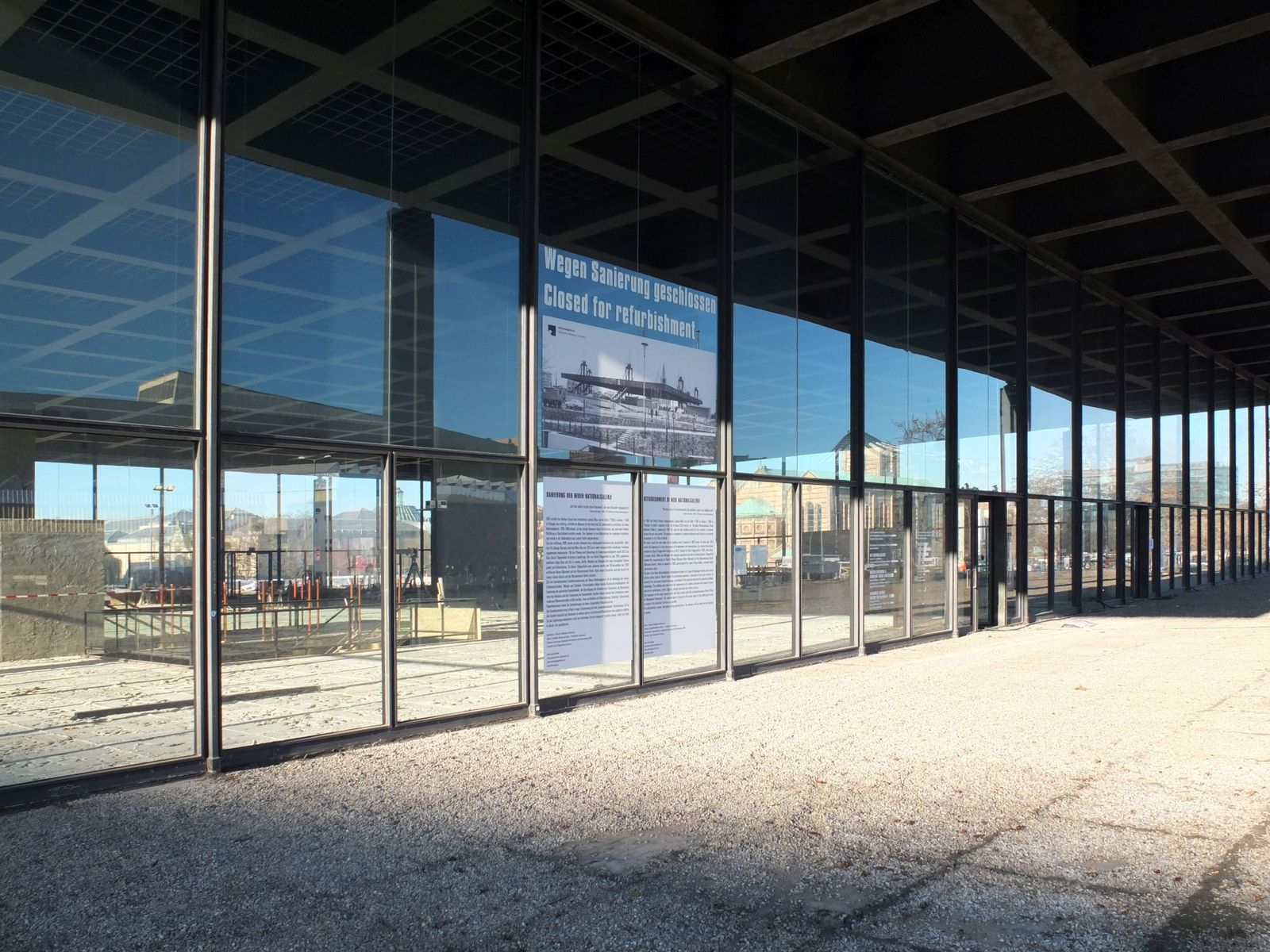 """Heute geschlossen wegen gestern"" © Staatliche Museen zu Berlin / schmedding.vonmarlin."
