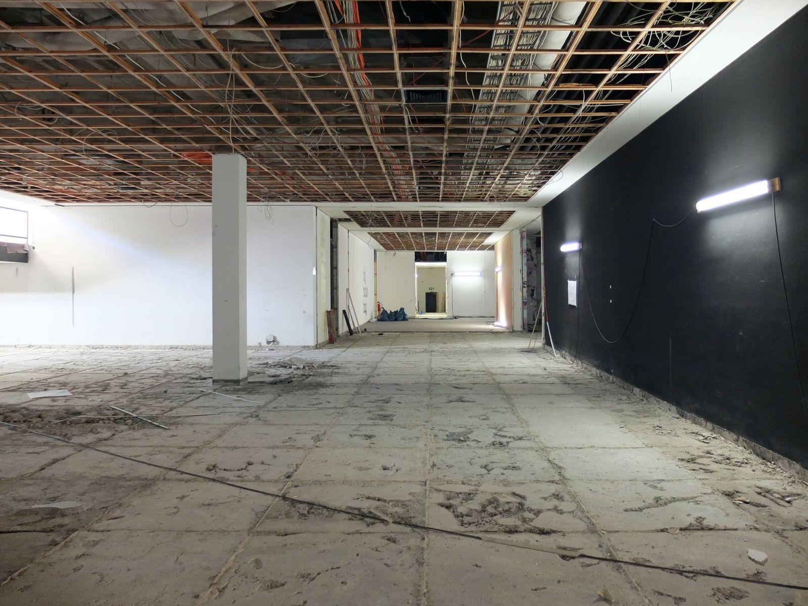 Der Blick ins untere Foyer, wo früher der Buchladen war. © Staatliche Museen zu Berlin / schmedding.vonmarlin.