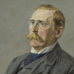Max Liebermann: Wilhelm Bode (1904). Copyright: bpk / Nationalgalerie, SMB / Jörg P. Anders