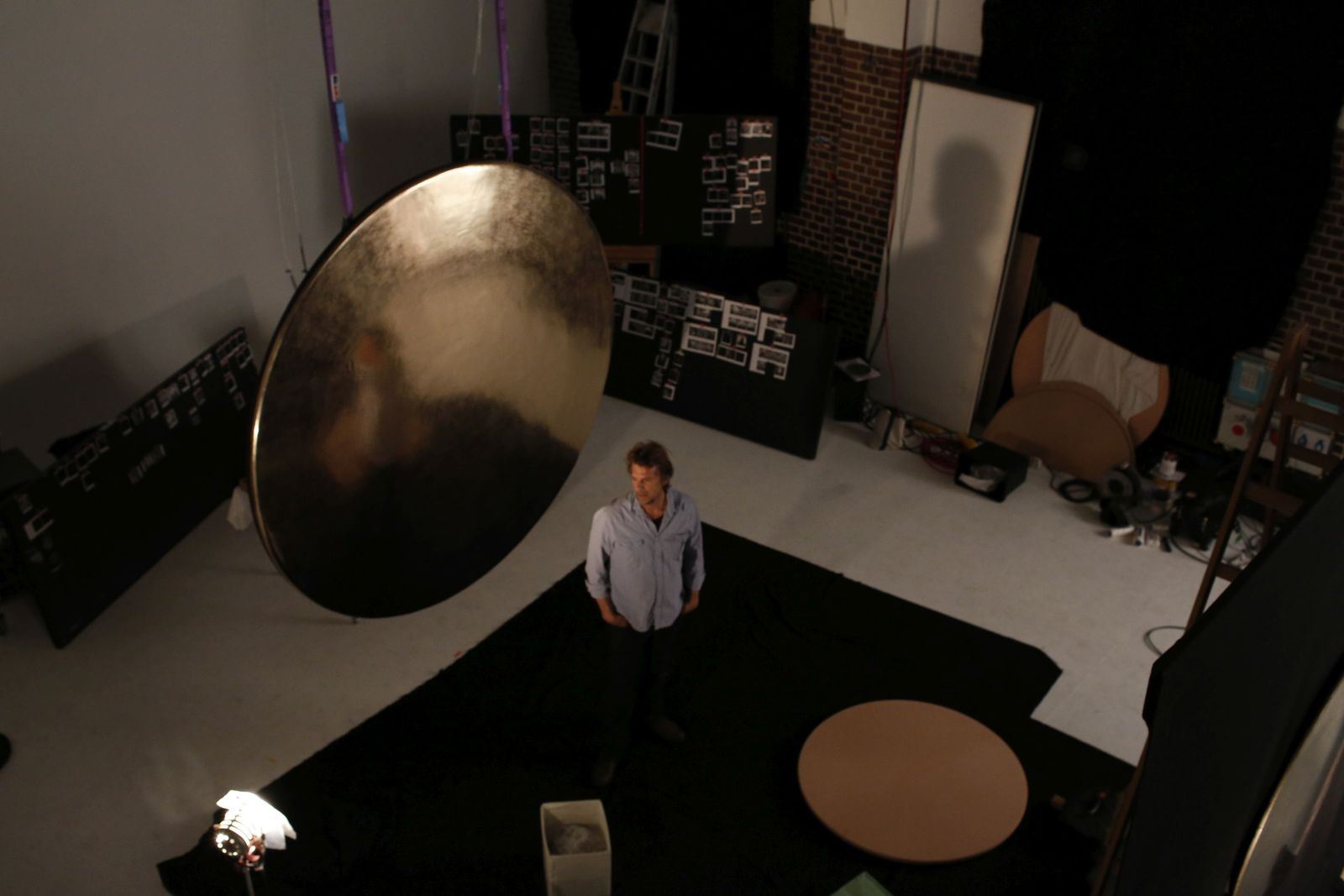Joe Ramirez in his Studio. Photo: Michael Carstens