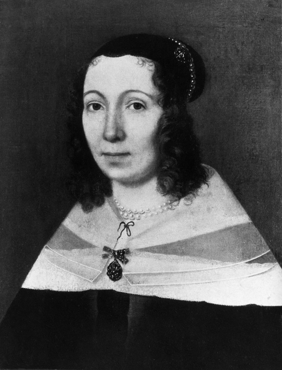 Maria Sibylla Merian, Portrait, Gemälde (o.J.), © bpk