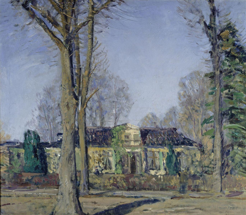 Ulrich Hübner: Landhaus in Travemünde, 1906 ©  bpk / Nationalgalerie, SMB / Andres Kilger