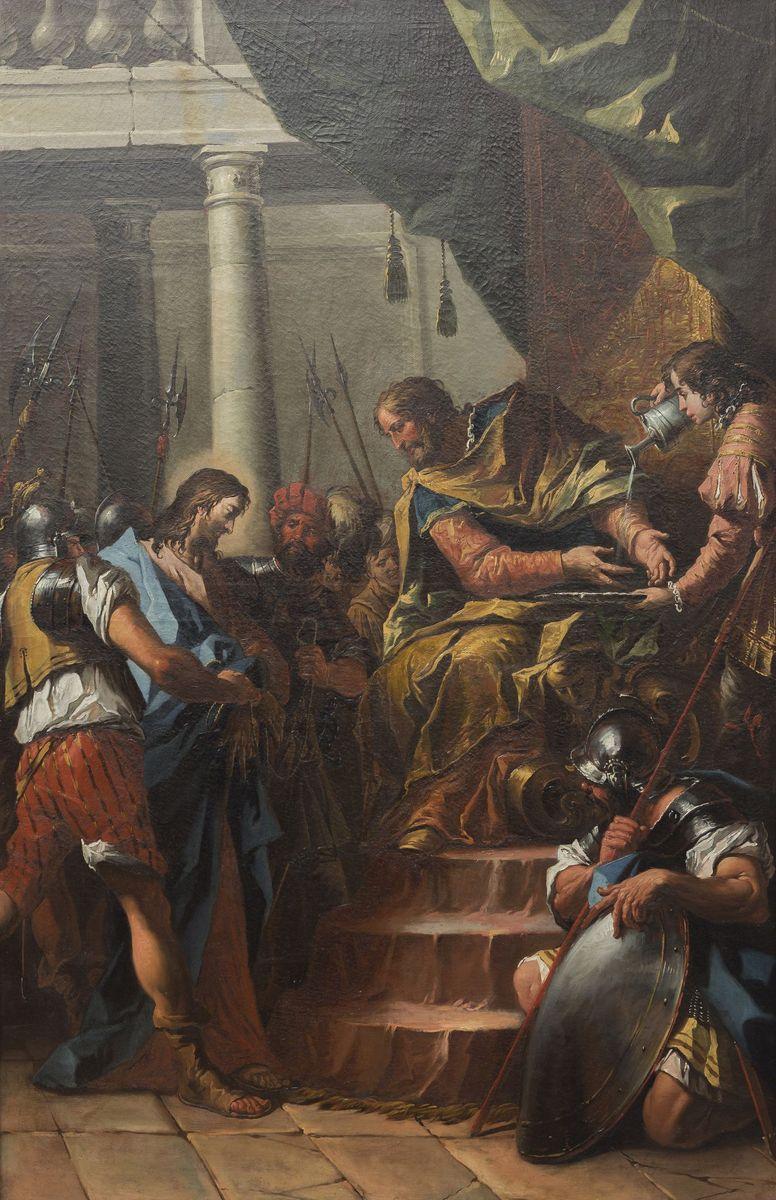 Gaspare Diziani: Christus vor Pilatus, um 1755/60 © Foto: David von Becker