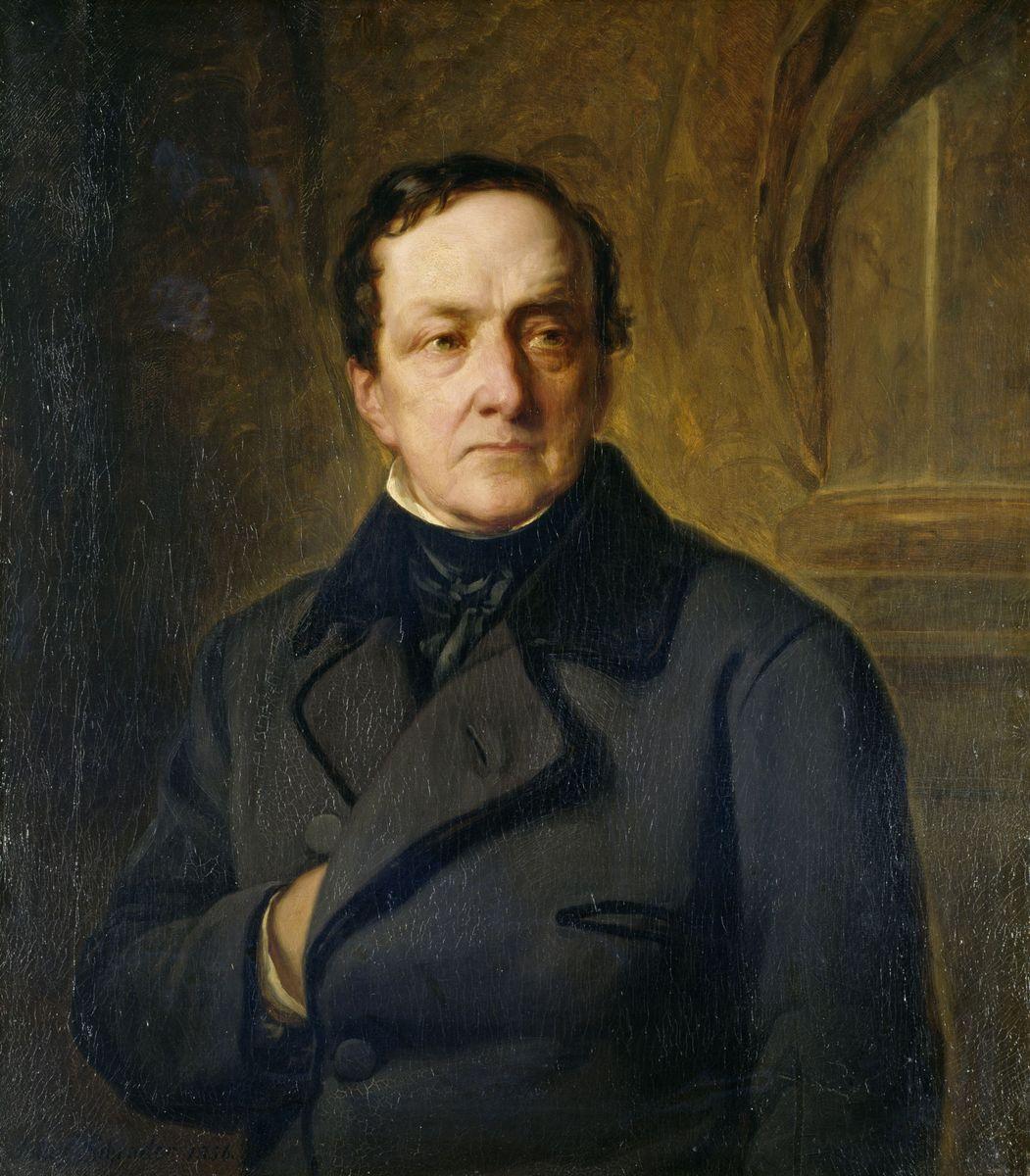 Julius Friedrich Anton Schrader: Bildnis des Bankiers Joachim Heinrich Wilhelm Wagener (1856) © bpk / Nationalgalerie, SMB / Karin März