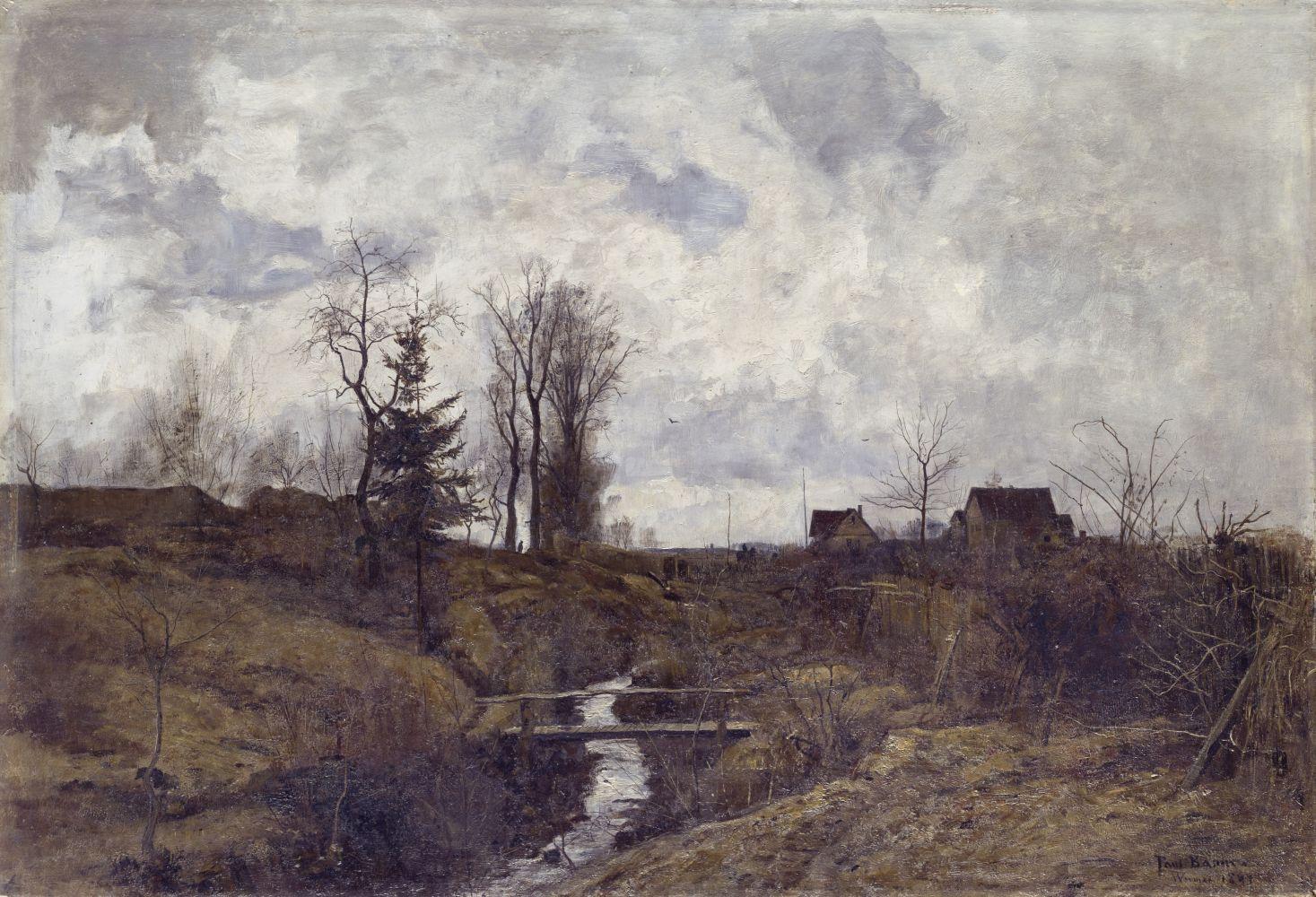Paul Baum: Nach dem Regen (1883) © Staatliche Museen zu Berlin, Nationalgalerie / Andres Kilger