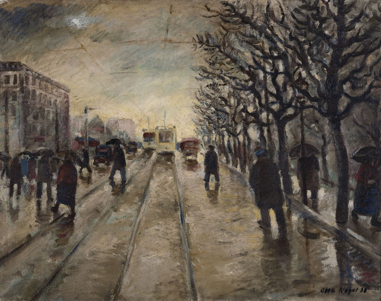 "Otto Nagel: ""Berliner Norden"" (1938) © VG Bild-Kunst 2017 / Staatliche Museen zu Berlin, Nationalgalerie / Klaus Göken"