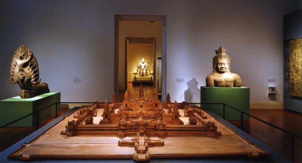 Ausstellungsansicht des Modells in Berlin. Foto: Staatliche Museen zu Berlin