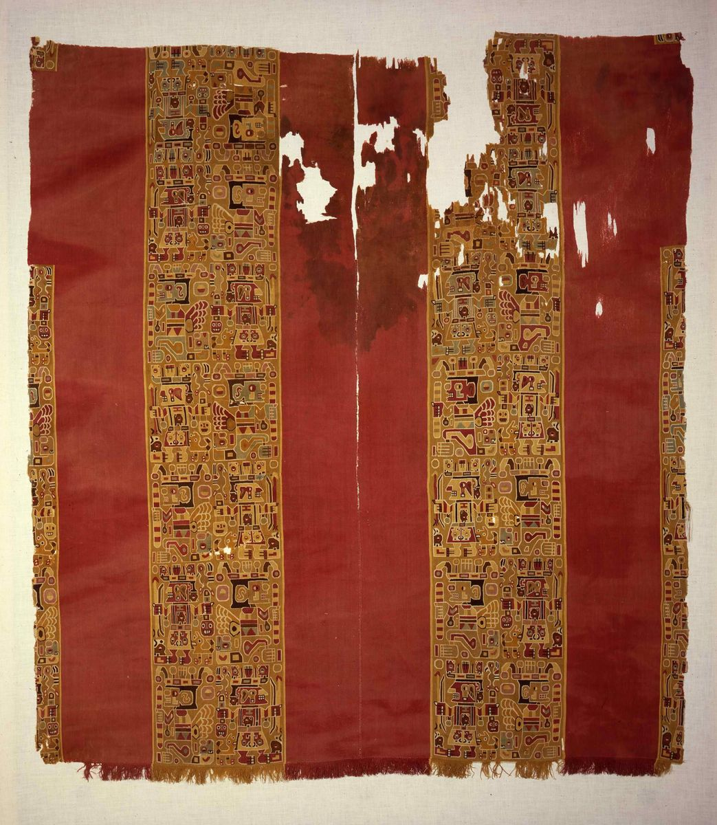 Männerhemd (Uncu), Huari (Wari) 500 - 800, Peru © Staatliche Museen zu Berlin, Ethnologisches Museum, Foto: Dietrich Graf