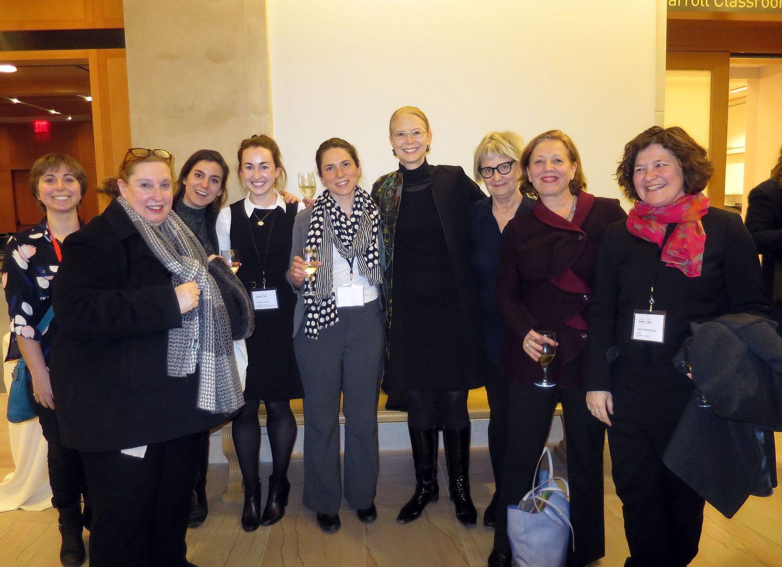 Jane Milosh und die Amerikanischen Teilnehmerinnen von PREP. (c) Jane Milosh