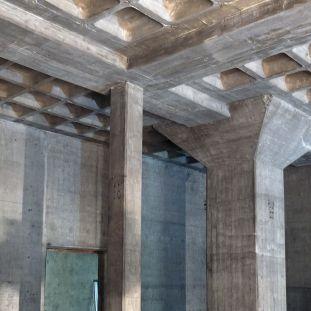 In diesem Bereich wird zukünftig die neue Garderobe im Entwurf von David Chipperfield Architects eingebaut. © Staatliche Museen zu Berlin / schmedding.vonmarlin.