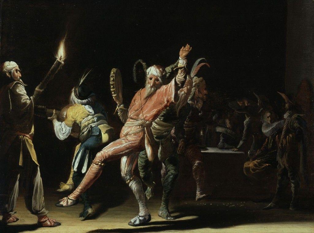 Willem Cornelisz Duyster: Fastnachtsnarren, Gemälde / Öl auf Eichenholz, um 1630, © Gemäldegalerie, Staatliche Museen zu Berlin / Jörg P. Anders