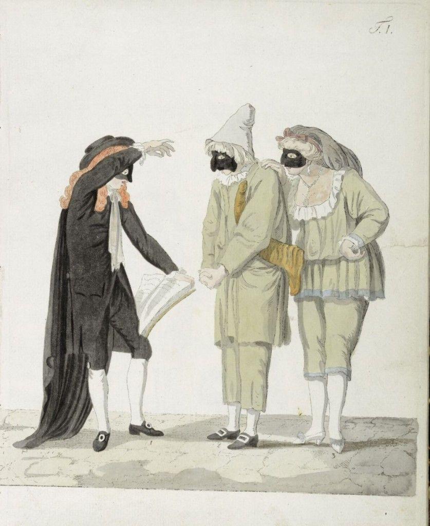 Georg Melchior Kraus - Das Römische Carneval - Illustration zu Goethes gleichnamiger Abhandlumg © bpk / Kunstbibliothek, SMB / Dietmar Katz