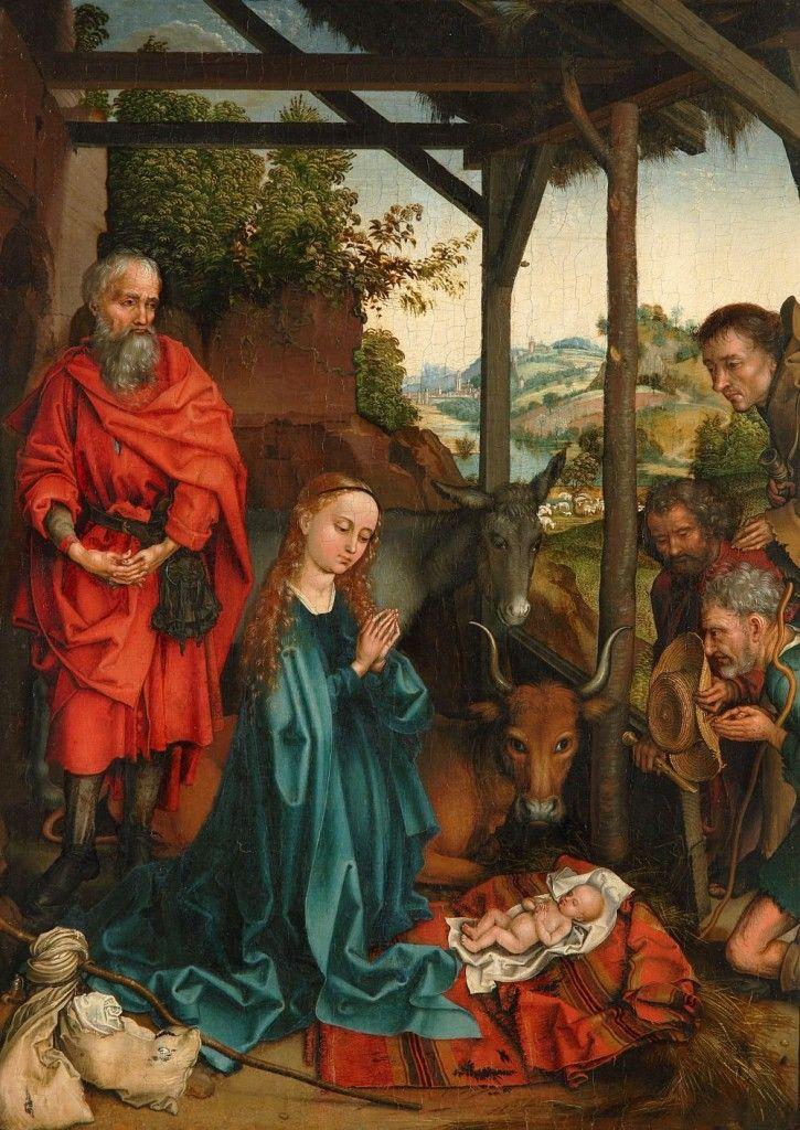Martin Schongauer: Die Anbetung der Hirten, um 1480 © Staatliche Museen zu Berlin, Gemäldegalerie / Eigentum des Kaiser Friedrich Museumsvereins / Christoph Schmidt