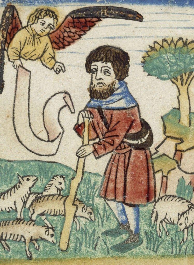 Verkündigung an die Hirten, um 1465 © Staatliche Museen zu Berlin, Kupferstichkabinett / Volker H. Schneider