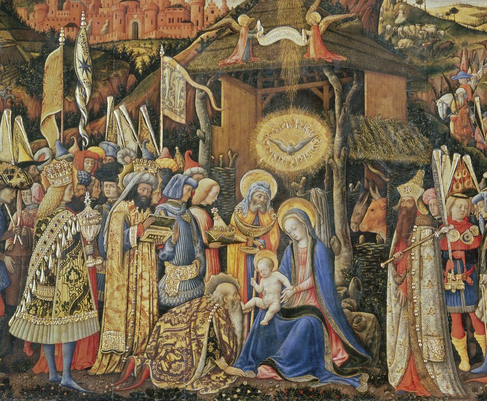 Antonio Vivarini: Die Anbetung der Könige, um 1441-45 © Staatliche Museen zu Berlin, Gemäldegalerie / Jörg P. Anders