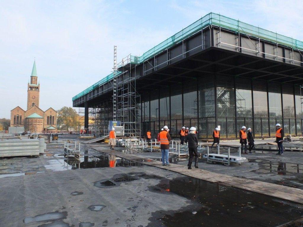 Baustellenrundgang im November 2018. © Staatliche Museen zu Berlin / schmedding.vonmarlin.