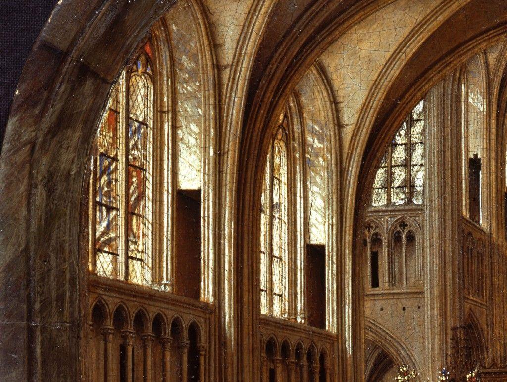 Detail: Das aus Norden kommende göttliche Licht © Staatliche Museen zu Berlin, Gemäldegalerie