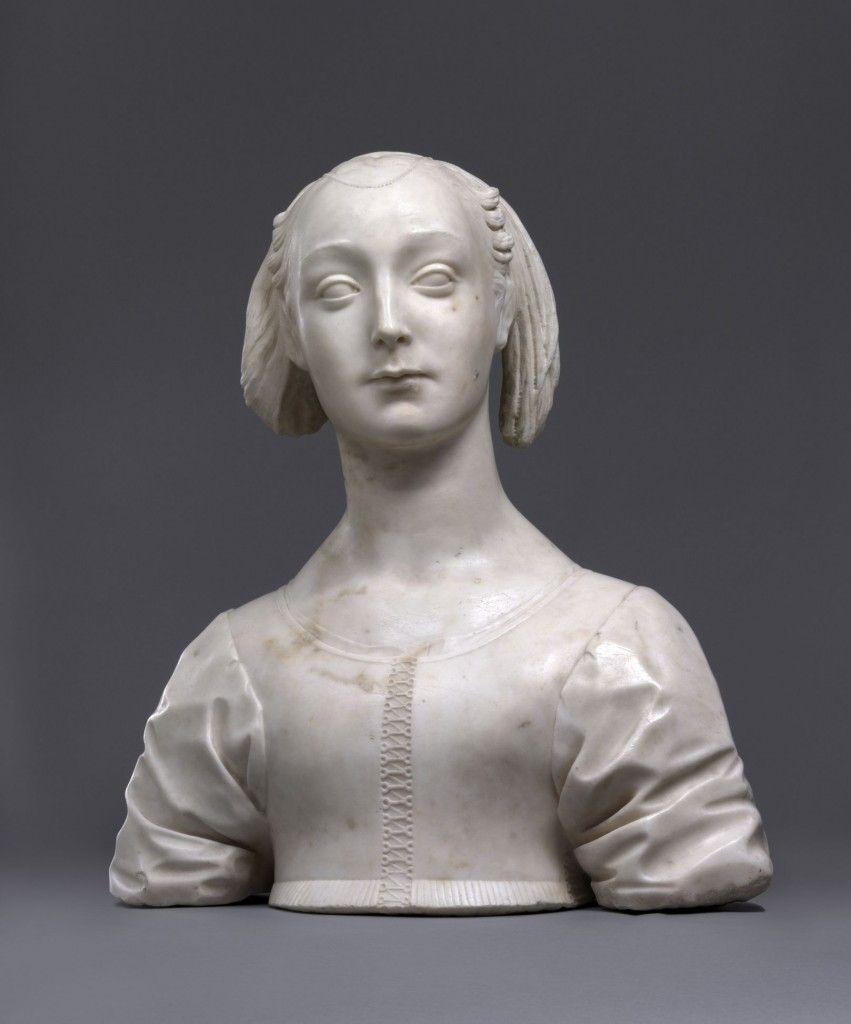 Desiderio da Settignano: Büste der Marietta Strozzi (1460 - 1464); (c) Staatliche Museen zu Berlin, Skulpturensammlung / Antje Voigt