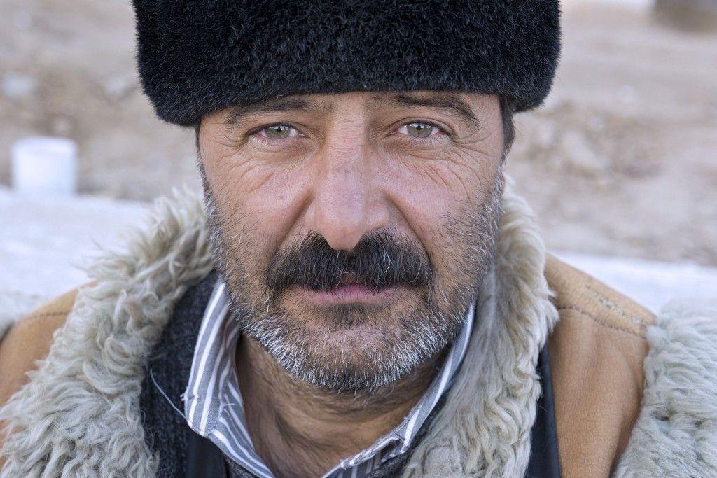 Porträt eines Turkmenen. Foto: Herlinde Koelbl