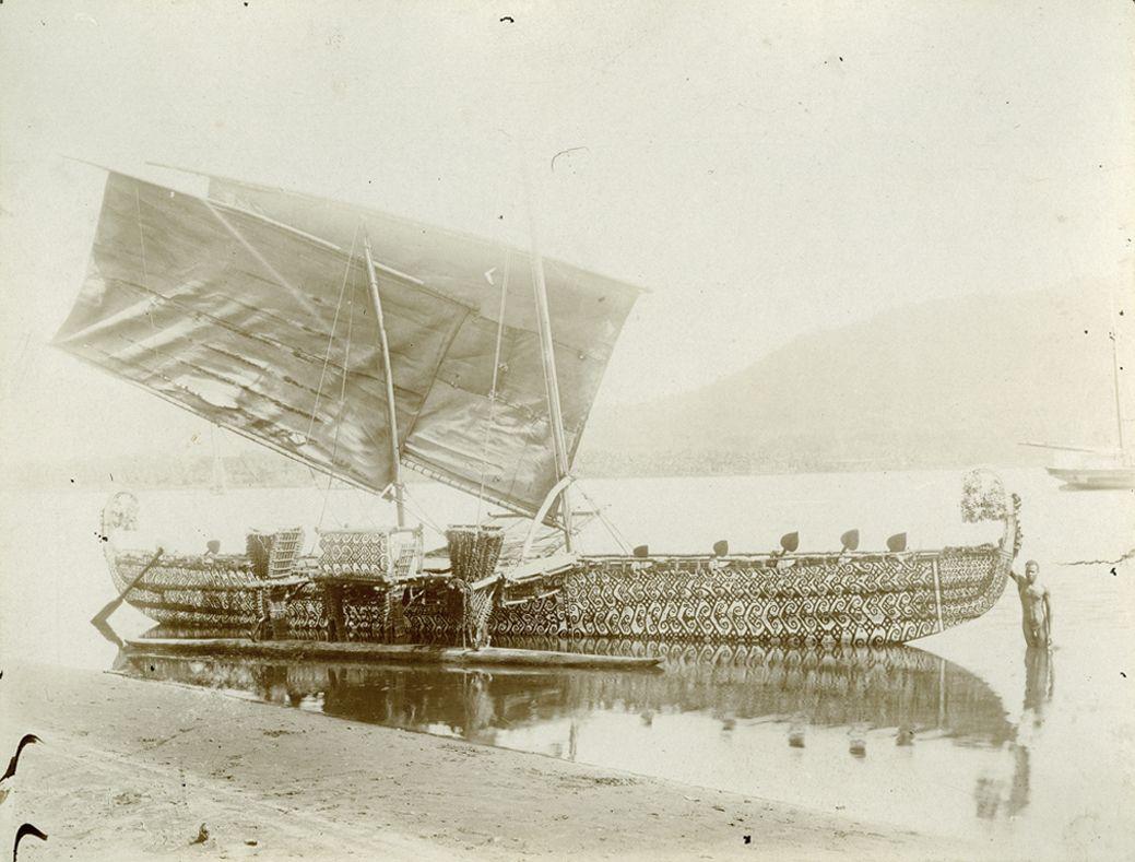 Luf-Boot vor Matupi